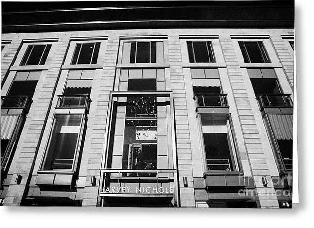 Harvey Nichols Store St Andrew Square Edinburgh Scotland Uk United Kingdom Greeting Card by Joe Fox