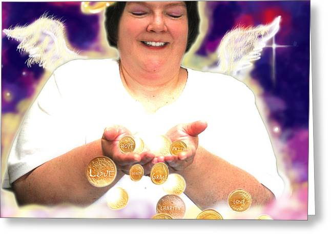 Harvey.angelic  Greeting Card