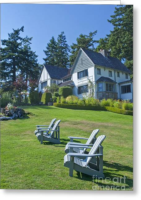 Hastings House Lawn Greeting Card