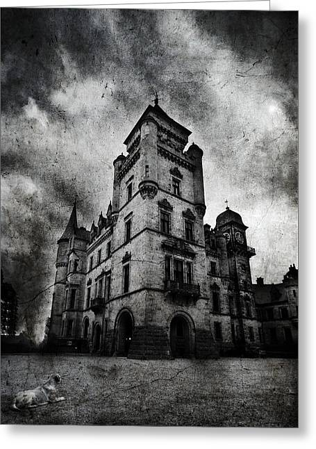 Haunted 2 Greeting Card by Laura Melis