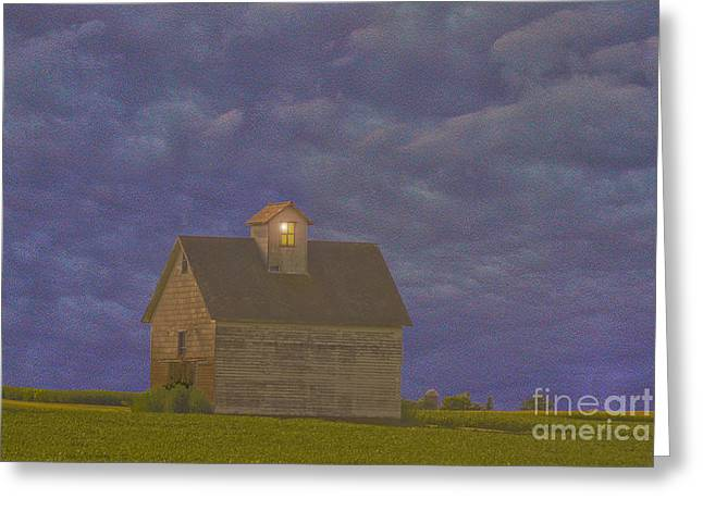 Haunted Barn Greeting Card