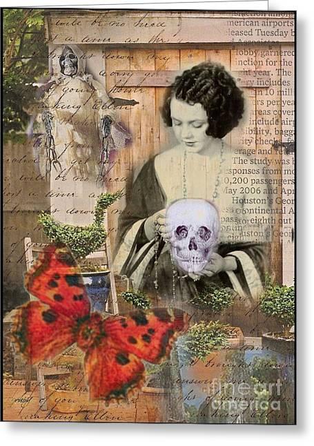 Haunted Garden Greeting Card