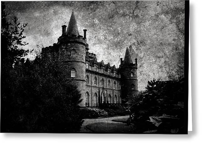Haunted Greeting Card by Laura Melis