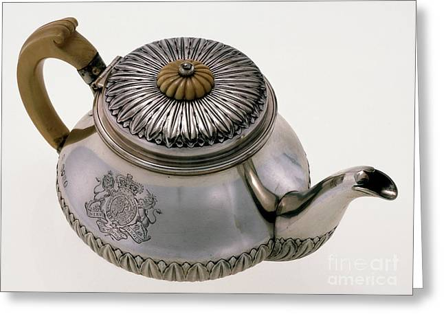Hawaii - Royal Teapot Greeting Card by Granger