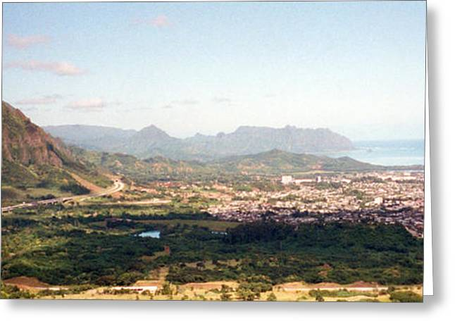 Hawaii Overlook Greeting Card