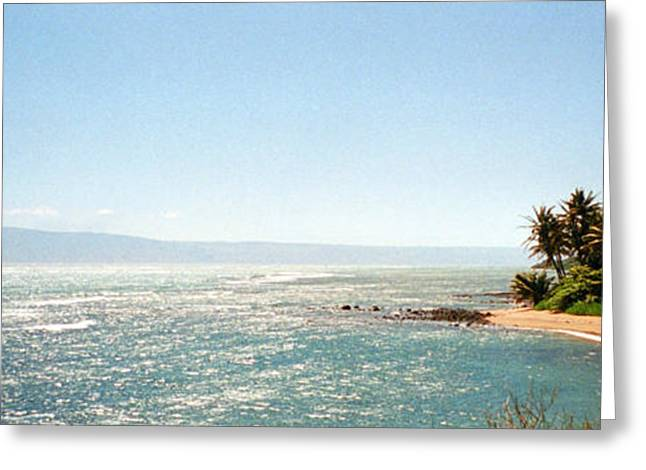 Hawaiian Coastal View Greeting Card