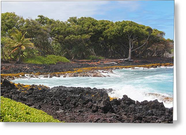 Greeting Card featuring the photograph Hawaiian Paradise by Kerri Ligatich