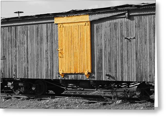 Hawaiian Railcar  Greeting Card by Elizabeth  Doran
