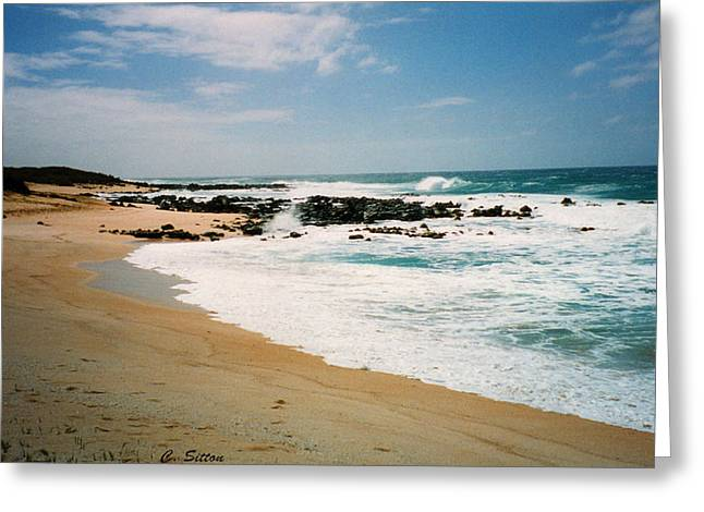 Hawaiian Shore Greeting Card