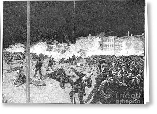 Haymarket Riot, 1886 Greeting Card by Granger