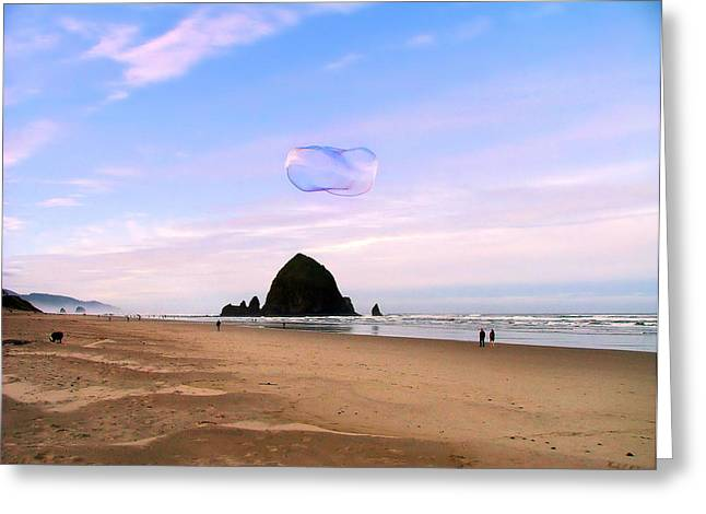 Haystack Bubble Greeting Card