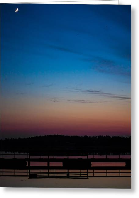 Greeting Card featuring the photograph Hazynezz 2 by Matti Ollikainen
