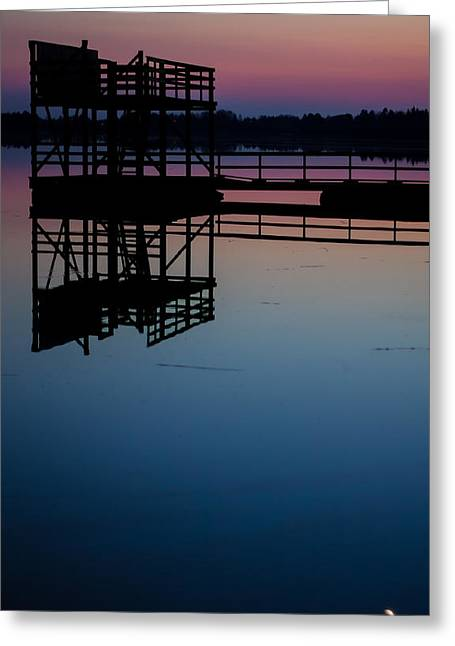 Greeting Card featuring the photograph Hazynezz 3 by Matti Ollikainen