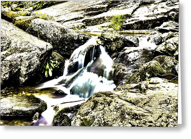 Hdr Stream Greeting Card by Shane York