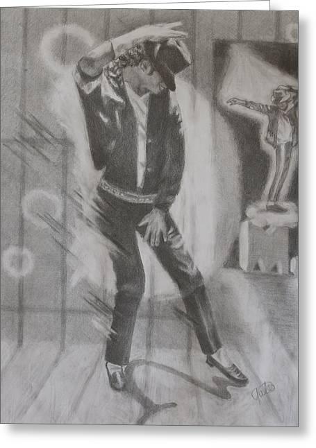 He Still Dances Greeting Card by Joanna Gates