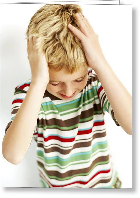 Head Lice Greeting Card