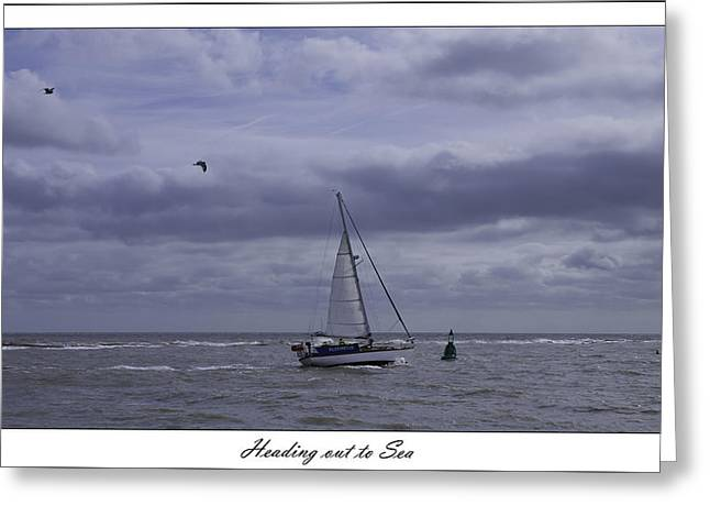 Heading Out To Sea Greeting Card by Nigel Jones