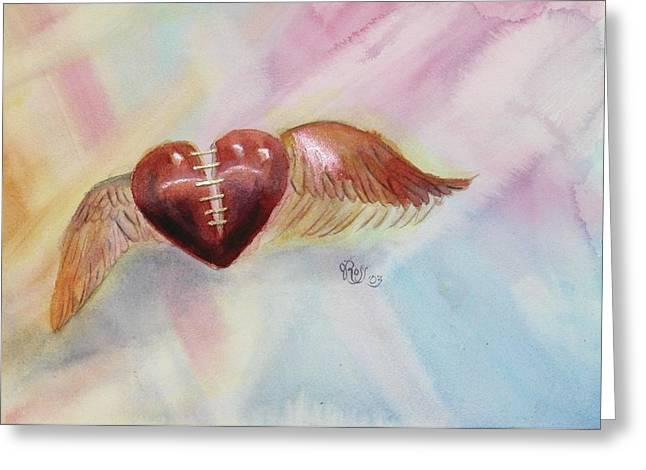 Healing A Broken Heart Greeting Card