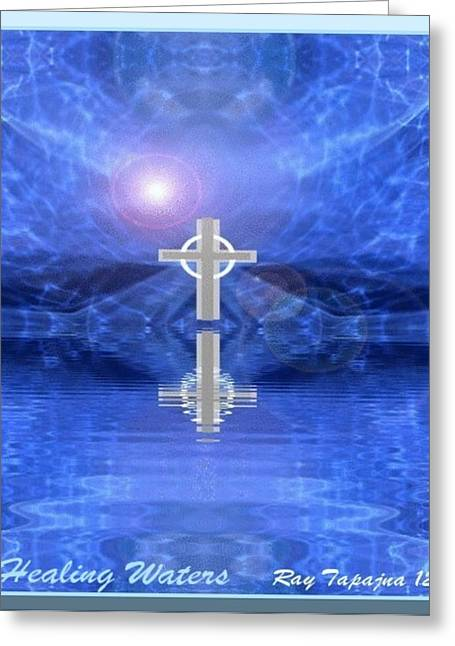 Healing Waters Greeting Card