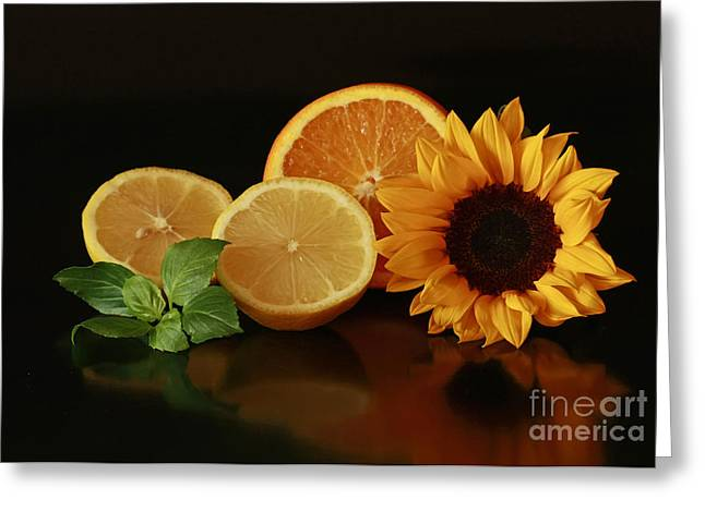 Healthy Food Matters Greeting Card by Inspired Nature Photography Fine Art Photography