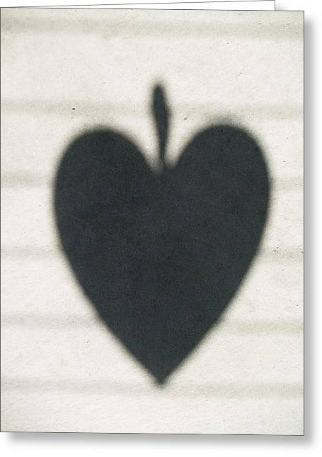 Heart On Wire I Greeting Card by Laine Zunte