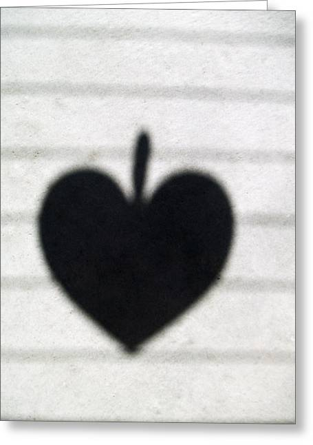 Heart On Wire II Greeting Card by Laine Zunte