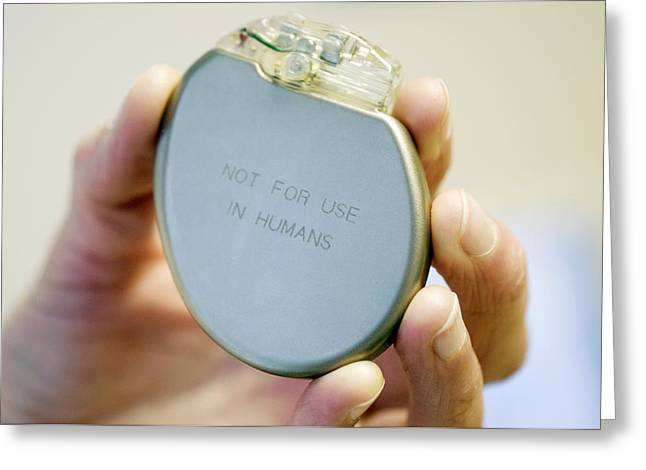 Heart Pacemaker Demonstration Model Greeting Card
