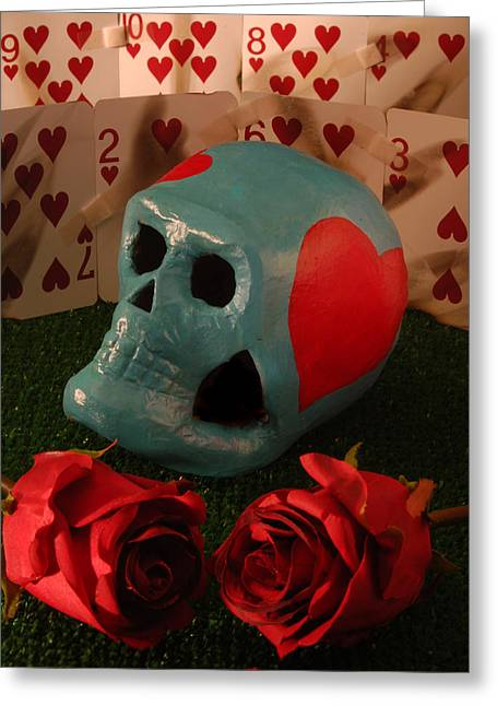 Heartache Greeting Card by Gabe Arroyo