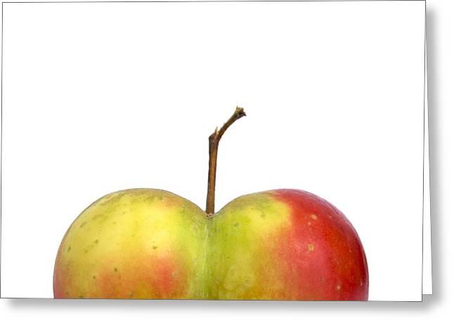 Heart.apple. Greeting Card by Bernard Jaubert