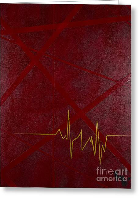 Heartbeat Dialect Greeting Card