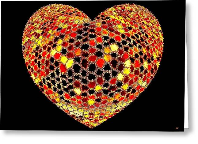 Heartline 7 Greeting Card by Will Borden