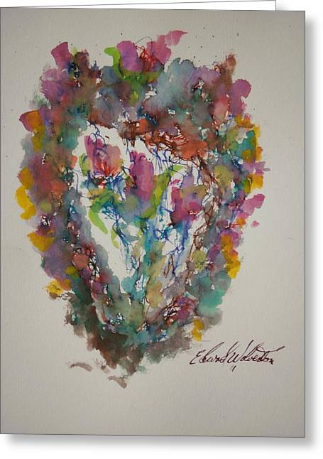Hearts Pleasures Greeting Card by Edward Wolverton