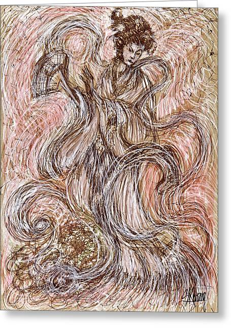 Heavenly Dance Greeting Card