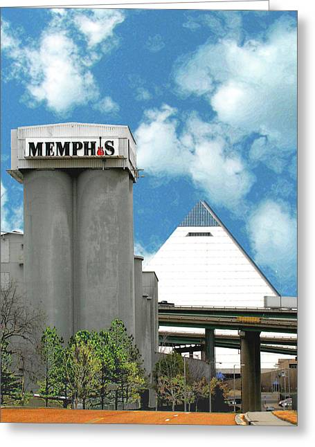 Greeting Card featuring the photograph Hello Memphis by Lizi Beard-Ward