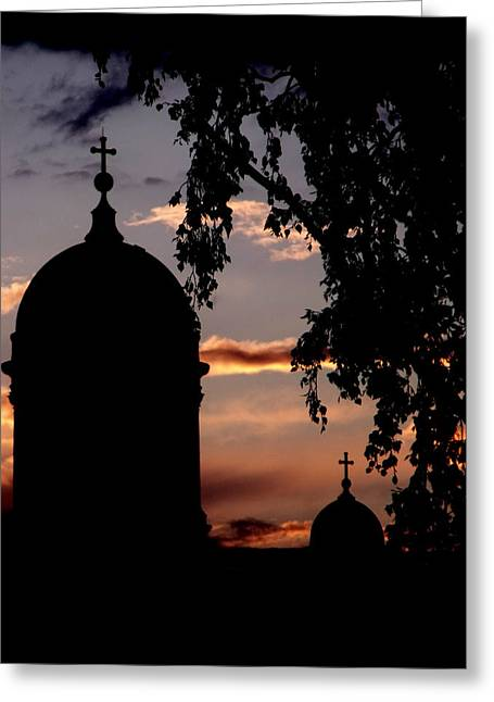 Helsinki Sunset Greeting Card by Lee Versluis