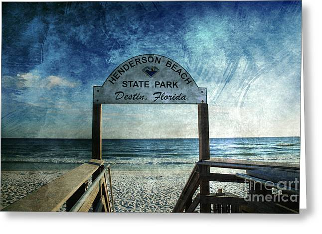 Henderson Beach State Park Florida Greeting Card by Susanne Van Hulst