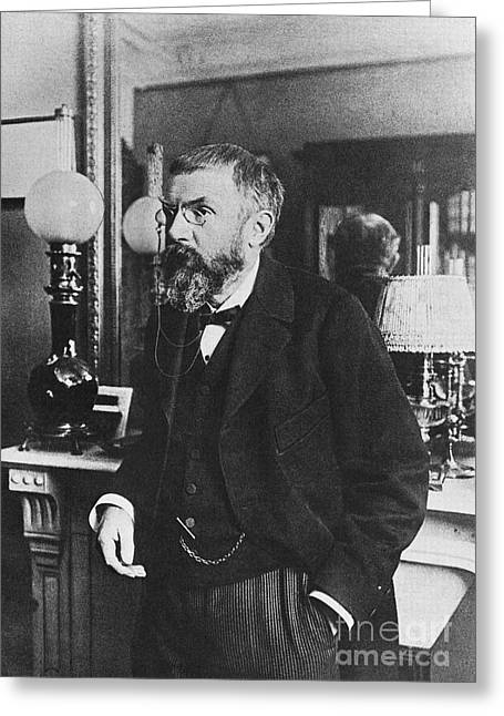 Henri Poincare, French Polymath Greeting Card by Science Source