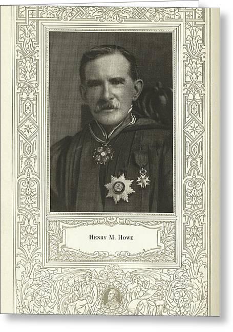 Henry M. Howe, American Metallurgist Greeting Card