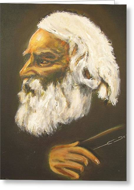 Henry Wadsworth Longfellow Greeting Card by Eric Dee