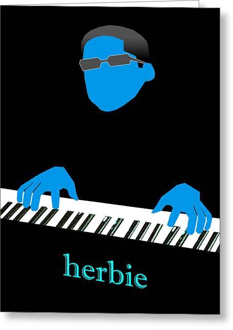 Herbie Blue Greeting Card
