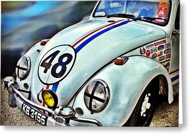 Herbie Goes To Chiang Mai 👀 Greeting Card