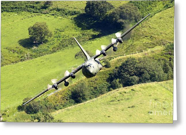 Hercules In Mach Loop Greeting Card