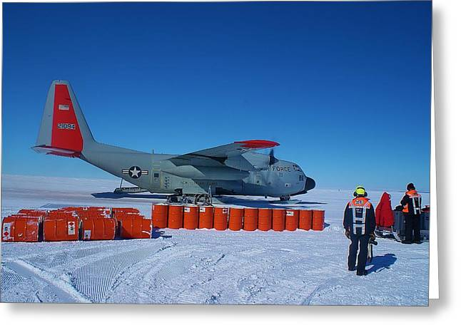 Hercules Lc130h 03 Greeting Card by David Barringhaus
