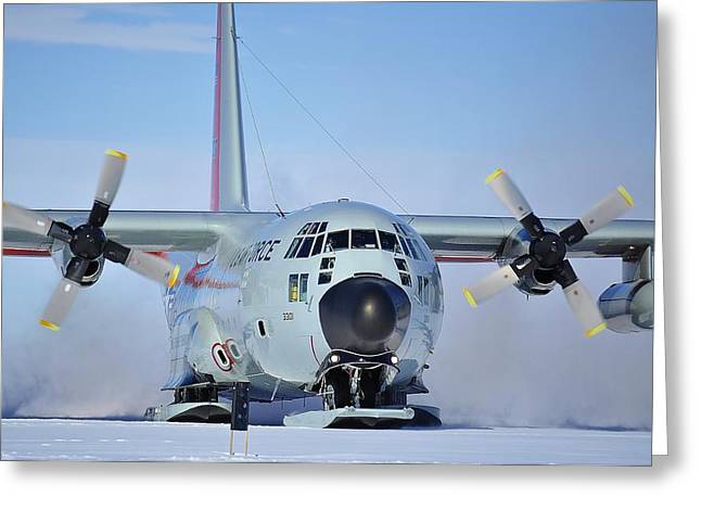 Hercules Lc130h 04 Greeting Card by David Barringhaus