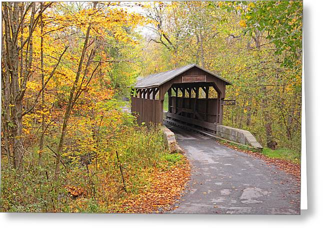 Herns Mill Covered Bridge Greeting Card