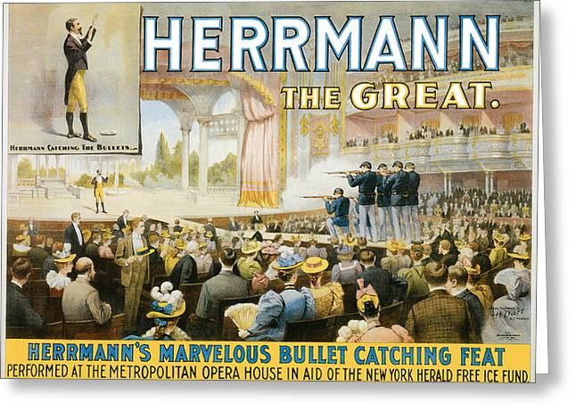 Herrmann The Great Greeting Card by Unknown