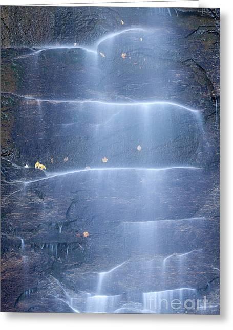 Hickory Nut Falls North Carolina Greeting Card by Dustin K Ryan