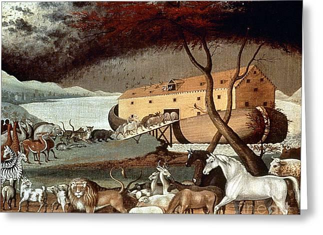 Hicks: Noahs Ark, 1846 Greeting Card by Granger