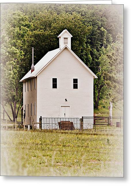 Hidden Church Greeting Card by Marty Koch