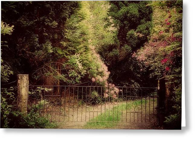Greeting Card featuring the photograph Hidden Garden by Marilyn Wilson
